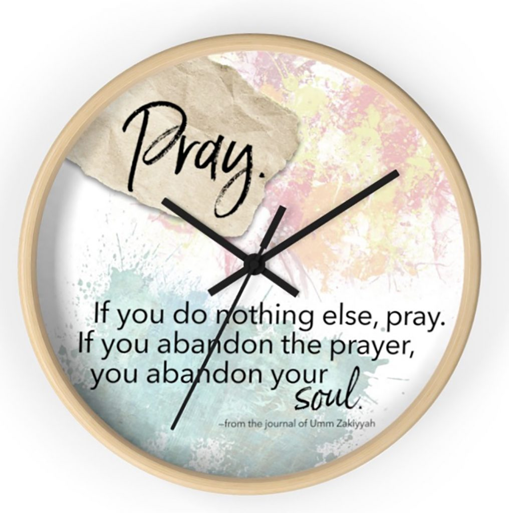 Pray clock